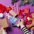 femenino · manos · regalo · Navidad · violeta - foto stock © Massonforstock