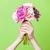 foto · verde · viola · fiori · campo · di · lavanda · fiorire - foto d'archivio © massonforstock