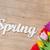 foto · hermosa · colorido · tulipanes · maravilloso - foto stock © massonforstock