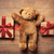gifts ribbon and teddy bear stock photo © massonforstock