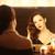 красивой · женщину · глядя · окна · портрет - Сток-фото © massonforstock