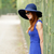 beautiful young woman walking in the park versailles stock photo © massonforstock