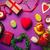 húsvét · szív · doboz · tojások · tavasz · természet - stock fotó © massonforstock