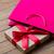hediye · çanta · şerit · ahşap · rustik - stok fotoğraf © massonforstock