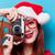 woman with photo camera stock photo © massonforstock