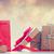Rood · verkoop · abstract · schitteren · korting - stockfoto © massonforstock
