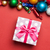 ピンク · クリスマス · 装飾 · 縞模様の · 木製 - ストックフォト © massonforstock