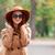 autunno · parco · moda · donna · occhiali · da · sole - foto d'archivio © massonforstock