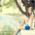 adolescente · caméra · vert · parc · herbe · femmes - photo stock © massonforstock