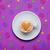 foto · taza · café · maravilloso · púrpura · vidrio - foto stock © massonforstock