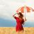девушки · зонтик · области · женщины · природы - Сток-фото © Massonforstock
