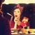 ragazza · sorpreso · guardando · specchio · mano - foto d'archivio © massonforstock