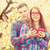 young teen couple with red cup stock photo © massonforstock