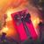Noel · hediye · kutusu · süslemeleri · eski · ahşap · masa · kâğıt - stok fotoğraf © massonforstock