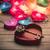 rojo · corazón · dorado · clave · 3D · reflexión - foto stock © massonforstock