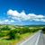 fotoğraf · güzel · yol · güneşli · gökyüzü · Yunanistan - stok fotoğraf © massonforstock