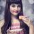 stijl · meisje · cake · bokeh · hand · vrouwelijke - stockfoto © Massonforstock