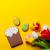 húsvét · mézeskalács · sütik · tulipánok · fa · asztal · tojások - stock fotó © massonforstock