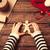 пряничный · женщину · продовольствие · вечеринка · детей · приготовления - Сток-фото © massonforstock