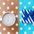 foto · taza · café · blanco · punteado · arte · pop - foto stock © massonforstock