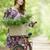 meisje · fiets · platteland · weg · natuur · lichaam - stockfoto © Massonforstock