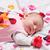 copil · petale · de · trandafir · alb · faţă · dragoste - imagine de stoc © Massonforstock