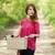 meisje · fiets · platteland · steegje · weg · lichaam - stockfoto © Massonforstock