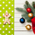 Gingerbread and napkin with baubles stock photo © Massonforstock