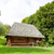 photo of beautiful view of village house on the wonderful trees stock photo © massonforstock