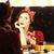woman with present box near a mirror stock photo © massonforstock
