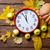 aalrm clock and pumpkin stock photo © massonforstock