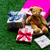 shopping bag teddy bear and gifts stock photo © massonforstock