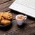 fotoğraf · fincan · kahve · masa · örtüsü · harika · ahşap - stok fotoğraf © massonforstock