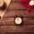 будильник · Рождества · подарки · желтый · кофе · красный - Сток-фото © massonforstock