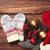 варежки · Рождества · подарки · древесины · ретро - Сток-фото © Massonforstock