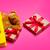 cute · regalos · fresco · amarillo · bolsa · de · la · compra · maravilloso - foto stock © massonforstock