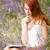 jeune · femme · vacances · Rechercher · eau · mer - photo stock © massonforstock