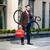 boldog · aktív · fiatalember · sétál · állás · bicikli - stock fotó © master1305