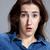 portré · fiatal · nő · megrémült · arckifejezés · meglepődött · arckifejezések - stock fotó © master1305