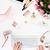 confortável · local · de · trabalho · laptop · branco · feminino · rosas - foto stock © master1305