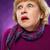 испуганный · старший · женщину · сирень · лице · красоту - Сток-фото © master1305