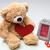 osos · de · peluche · Pareja · rojo · corazón · día · de · san · valentín · regalo - foto stock © master1305