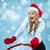 冬 · 肖像 · 若い女性 · 毛皮 · 帽子 · 女性 - ストックフォト © master1305