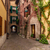 Toscana · panorama · fiori · Italia · cielo · casa - foto d'archivio © master1305