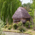 small hut with a thatched roof stock photo © master1305