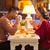 romantik · tatil · akşam · yemeği · resim · lüks · tablo - stok fotoğraf © master1305
