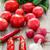 ピーマン · トマト · ニンニク · ショット · 白 · 食品 - ストックフォト © master1305