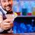 barman · werk · cocktails · glimlachend · dienst · dranken - stockfoto © master1305