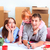 gelukkig · gezin · reparatie · familie · accommodatie · dozen · huis - stockfoto © master1305