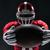 американский · футболист · позируют · мяча · белый · вид · сзади - Сток-фото © master1305